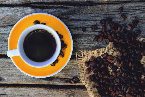 Coffee, Breakfast, Cup, Rest, Dawn, Coffee Grains