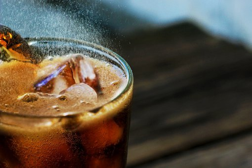 Soft Drink, Soda, Ice, Glass, Cold, Fresh, Drink