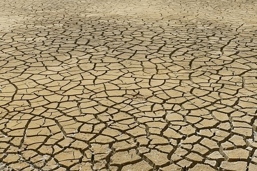Dry, Dehydration, Drought, Rip, Crack, Earth, Ground