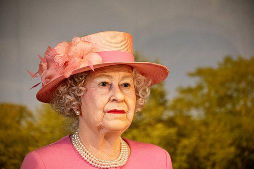 Wax Figure, Queen Elizabeth, Queen, England, Panopticon