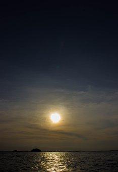 Sun, Sunset, Sunrise, Landscape, Sky, Mood, Nature