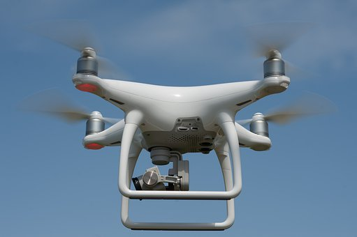 Drone, Camera, Multicopter, Aerial View, Flight, Aerial