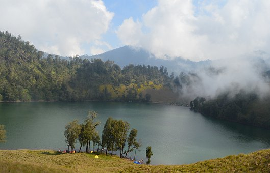 Nature, Semeru, Indonesia, Java, Mountain, Landscape