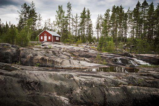 Nordic, House, Norway, Travel, Scandinavia, Europe