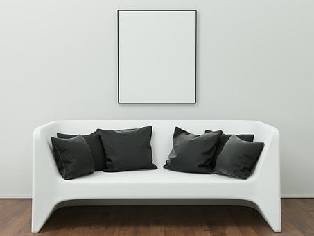 Frame, Mockup, Interior, Template, Poster, Picture