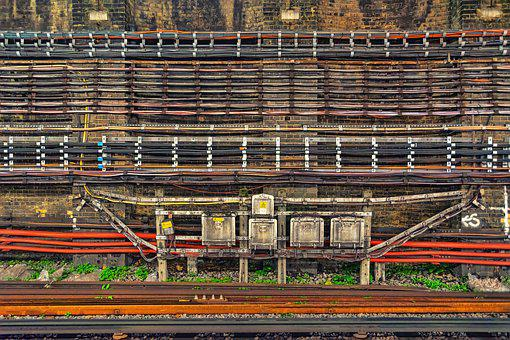 Cable, Rails, Railway, Traffic, Travel, Train