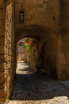 Rhodes, Castle, History, Mediterranean, Greek, Tourism