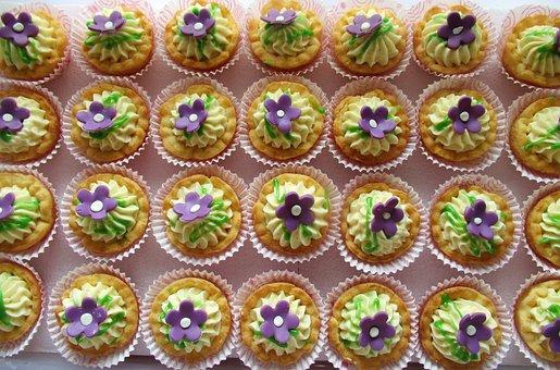 Cupcakes, Treats, Baked Goods, Icing, Sugar