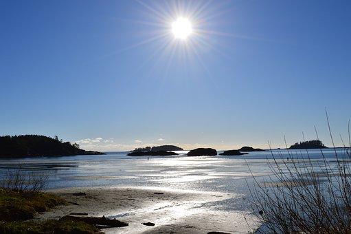 Tofino, Low Tide, Sun, Sunshine, Morning, Good Morning