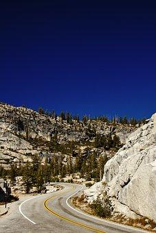 Yosemite, National Park, California, Usa, Landscape