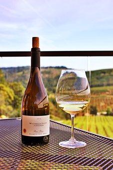 Willamette, Valley, Vineyards, Oregon, Wine, Outdoor