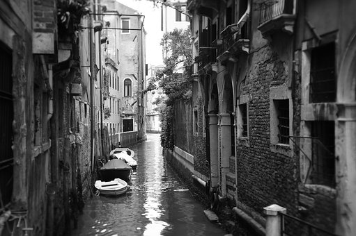 Venice, Canal, Italy, Water, City, Romantic, Old
