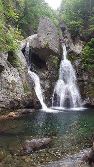 Waterfall, Bash Bish, Massachusetts, Berkshires, Usa