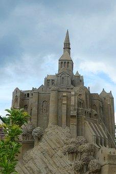 Sand Sculpture, Mont-saint-michel, Art, Sand, Sculpture