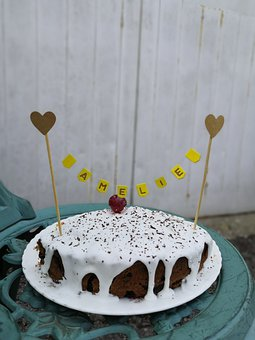 Cake, Amelie, Cake Topper, Bunting Cake Topper