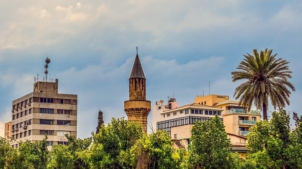 Cityscape, Minaret, City, Architecture, Building