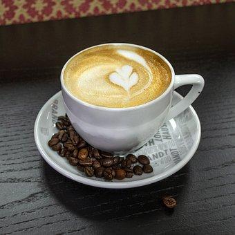 Coffee, Cup, Mug, Drink, Cappuccino, Break, Morning
