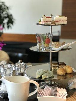 Afternoon Tea, Dim Sum, Cake, Restaurant, Coffee Hall