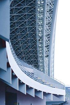 Stadium, Architecture, Football, Construction, Building