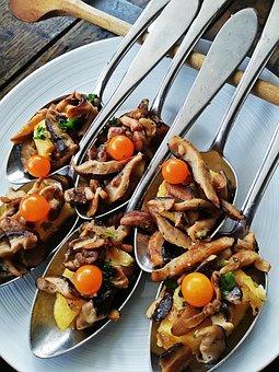 Finger Food, Spoon, Chunks, Starter, Delicious
