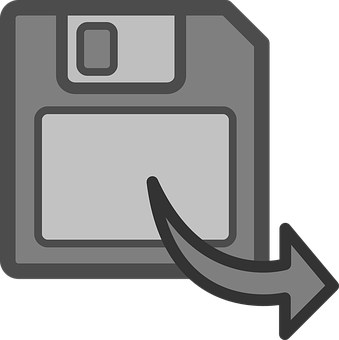 Disk, Save, Floppy, Data, Transfer, Icon, Symbol