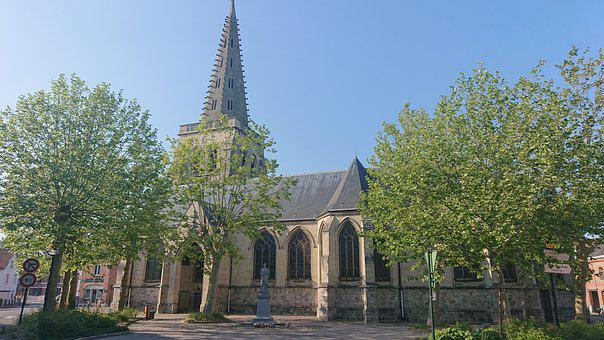 Church, Catholic, Religion, Sainte, Architecture, Faith