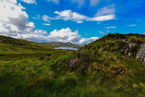 Ireland, Landscape, National Park, Sky, Vacations