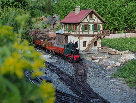 Garden Railway, Lgb, Model Railway, Garden, Stainz