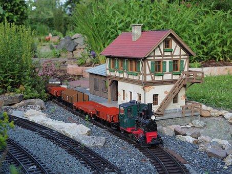 Garden Railway, Hobby, Lgb, Model Train, Leisure