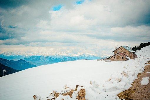 Alm, Winter, Snow, Snow Cover, Landscape, Nature