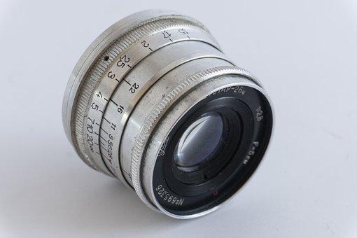 Camera, Lens, Old, Rarity, Photo, Retro, Nostalgia
