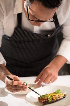 Platting Food, Michelin, Fine Dining