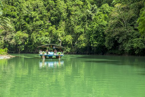 Travel, River Crossing, Vacations, Asia, Idyll, Water