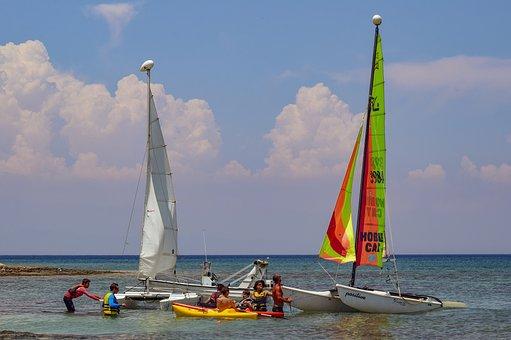 Sea, Sailboats, Sailing, Nautical, Sail, Summer, Sky
