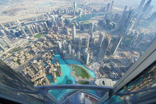 Dubai, Burj, Khalifa, City, Modern, Emirates, Skyline