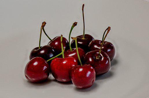 Cherries, Red, Pome Fruit, Summer, Sweet Cherry, Bio