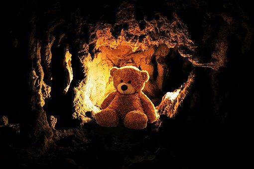 Teddy, Bear, Toys, Teddy Bear, Play, Children, Cave