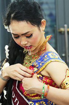 Indonesia, Tradition, Costumes, Clothing, Woman