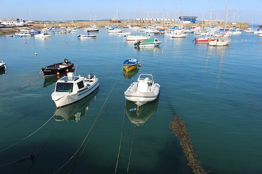 Two Boats, Penzance, Coast, Harbour, Dockside, Cornwall