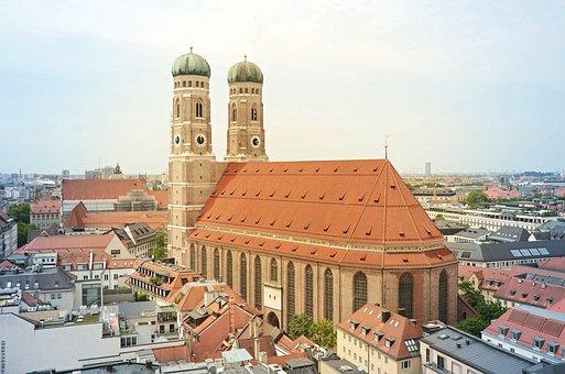 Frauenkirche, Munich, Church, Bavaria, City