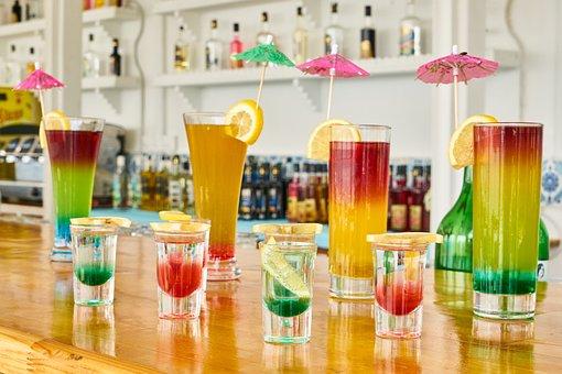 The Drink, Cocktail, Color, Bar, Celebration, Lemon