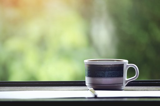 Espresso, Break, Relax, Table, Smoke, Window, Coffee