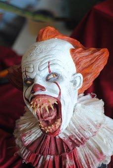 Clown, Terror, Scary, Spooky, Creepy, Evil