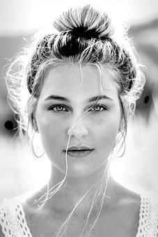 Woman, Beauty, Fear, Face, Portrait, Sexy, Female, Eyes