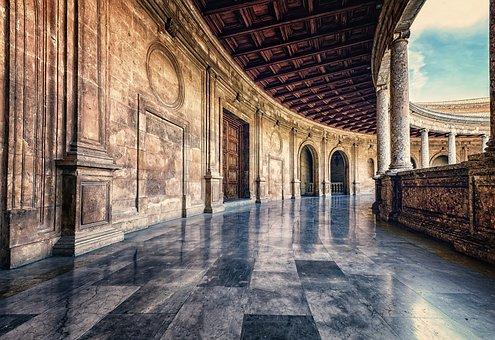 Floor, Corridor, Architecture, Perspective, Passage
