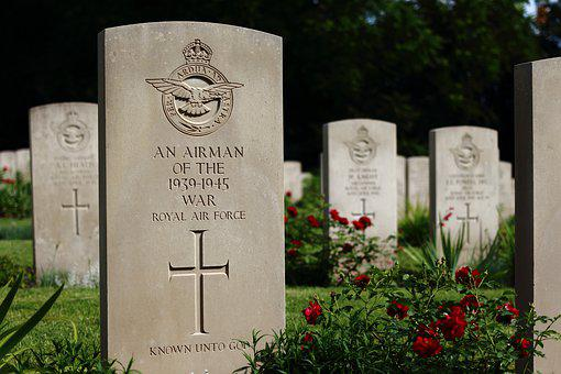 Cemetery, The Tomb Of, Graves, Military Cemetery, Rfu