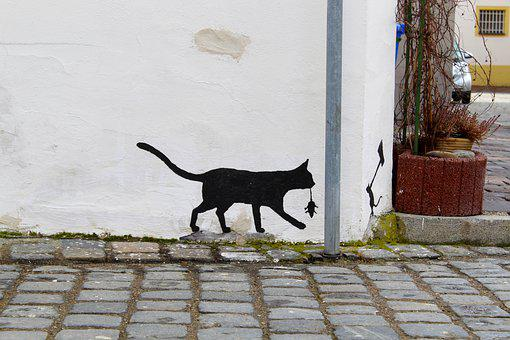 Graffiti, Mural, Neuburg, Bavaria, Street Art, Wall