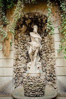 Neptune, Orginial, Figure, Manneken, Palace, Thun