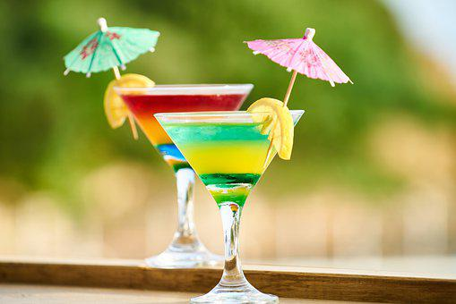 The Drink, Cocktail, Beverage, Summer, Holiday, Relief