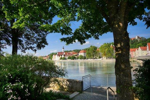 Landsberg, Lech, River, Historically, Bavaria